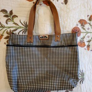 Kavu herringbone tote bag